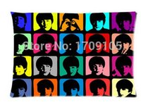 beatles members - Valentine s Day Gift The Beatles Member Art x75cm Pillow Case home Decorative pillowcase Room Pillow Cover