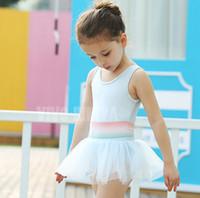 ballet swimsuit - 2016 summer new Children swimsuits Girls lace tulle tutu dress swimsuit kids ballet dress swimwear children spa beach swimsuit