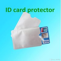 Wholesale Anti Theft Credit Card Protector RFID Blocking Aluminum Safety Sleeve