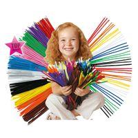 arts parts - 1000pcs shilly stick Plush Kids Toy DIY Toy Educational Toys Children materials handmade art Christmas Intelligence toys