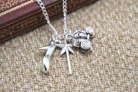 american fairy tales - 12pcs Cinderella Inspired Charm Necklace fairy tale high heel charm Necklace