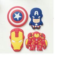 Wholesale Novelty Super American Heroes Fridge Magnet Sticker Refrigerator Magnet Home Decor styles WA0829