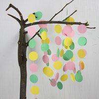 baby nursery photos - Girl Nursery Photo Prop Birthday Party Baby Shower Wedding Garland Pink Yellow Mint