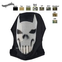 Wholesale Outdoor Shooting Sports Face Protection Gear V3 Metal Steel Wire Mesh Full Face Tactical Airsoft Mask