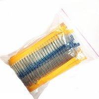 Wholesale 600Pcs Values W Metal Film Resistors Resistance Assortment Kit B00122 BAR