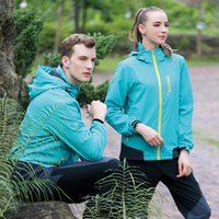 Wholesale milvian new autumn and winter men and women s camping three colors polyester two ways stretch quick dry hiking jackets