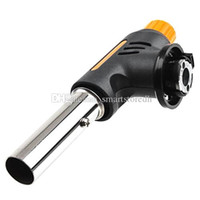 Wholesale Auto Ignition Camping Flamethrower Soldering Butane Gas Torch Burner F00270 BARD