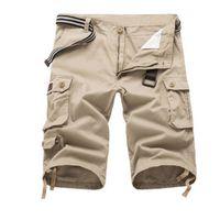 best cargo shorts - Best Price Men Surf Board Beach Shorts Silver Military Cargo Work Wear Shorts Short Pants size