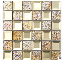 advanced ceramic materials - Advanced Chinese modern ceramic tile D TV background wall hotel KTV decoration building materials necessary mosaic D A