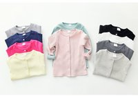 Wholesale 2016 baby s clothes kids coat knitwear knitted sweater cardigan girls clothing spring coat brand new fashion style