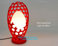 Wholesale Hot Selling luminaria de mesa Fashion Creative Resin Table Lamp Desk Modern Red Table Lights Fixture