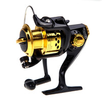 aluminium fly reels - Aluminium Spool Spinning Reel SG3000 BB Collapsible Handle Fishing Spinning Reel Fish Tackle Accessory