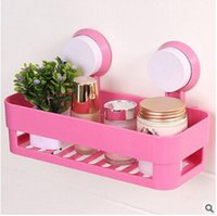bathroom storage designs - Bathroom shelf creative design strong sucker bathroom shelves wall mounted type storage rack kitchen commodity shelf with strong suction