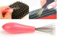 Wholesale Comb Hair Brush Cleaner Cleaning Remover Embedded Beauty Tools Plastic Handle Quick Comb Clean And Convenient