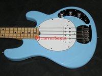 envío libre OEM Custom Shop cielo azul 4 cuerdas bajo de estilo clásico vendedor caliente de calidad superior