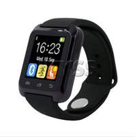 Wholesale Smartwatch Bluetooth Smart Watch U80 with Altimete for iPhone IOS Android Smart Phone Wear Clock Wearable Device Smartwach PK U8 GT08 DZ09