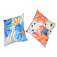 Wholesale Canvas And Cotton Square Throw Pillow And Comfort Fiber Stuffed Case Decorative Cushion Cover Pillow Case for Sofa Size quot x18 quot