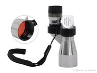 Wholesale Mini Pocket Binoculars X Silver Metal Monocular Telescope Eyepiece