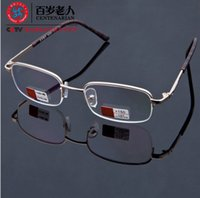 Wholesale Brand high end mirror mirror presbyopic glasses far older air defense fatigue