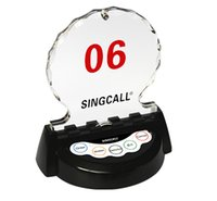 Wholesale singcall wireless pagers vip room call button APE950 in VIP room of auto s shop or sales office for customer calling waiter Table buzzer