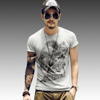 bamboo screen panels - 2016 new fashion Men Cotton Solid color Screen Slik Printing O neck Short sleeve t shirt