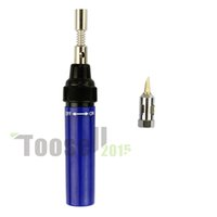 Wholesale Professional Pen Cordless Soldering Iron Tool Gas Blow Torch Welding Solder Butane Refillable