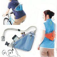Wholesale Sport Running Triangular Waist Bum Fanny Bag Water Bottle Pocket Storage Pouch Portable Bicycle Bike Waist Packs for Outdoor