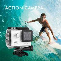 action sports photo - DHL Shipping Waterproof Action Camera Sports DV K Ultra HD LCD Wifi Video Motion Recording Display Photo Camera Shooting