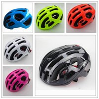 Wholesale POC Raceday Road Bike Helmet Ultralight Cycling Bicycle Kits Capacete Bicicleta Helmet Casque Velo Large Fluo Yellew Black Colors