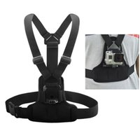 Wholesale Andoer Adjustable Elastic Body Harness Chest Strap Mount Band Belt Camera Accessory for GoPro Hero SJCAM Sport Camera