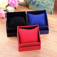 bangle holder box - Hot Bracelet Jewelry Watch display watch holder With Foam Pad Inside Present Gift Box Case For Bangle watch boxes and packaging