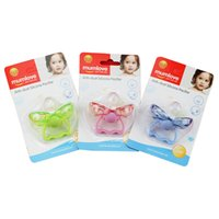 Wholesale maternal and child supplies mumlove baby pacifiers with covers pacifiers are made of silica gel soft and safe and clear