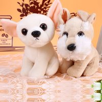 baby huskies - 18CM in Cute Dog Bell Husky Doll plush toy Doll Stuffed Animals Baby Toy for Children Gifts Wedding Gifts Couple gifts Hot Sale