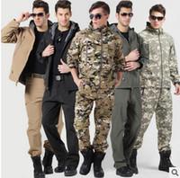 achat en gros de pantalon acu-Chasse Camping imperméable pantalons pantalons pour hommes en gros-plein air, chaud disponibles pantalons molletonnés ACU