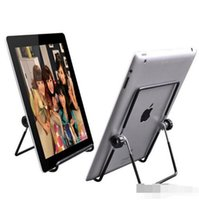 Wholesale Iron Metal Adjustable Folding Holder Stand For A13 Q88 Android tablet PC smart phone Hotsale