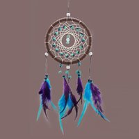 angels hanging - Antique Imitation Enchanted Forest Dreamcatcher Gift Handmade Dream Catcher Net With Feathers Wall Hanging Decoration Ornament