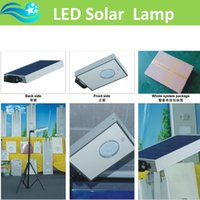 aluminum solar panels - holiday outdoor lighting all in one integrated solar led garden light or street lamp with v w solar panel in new goods