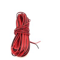 Wholesale meters Electrical Wire Tinned Copper Pin AWG insulated PVC Extension LED Strip Cable Wire Excellent Quality