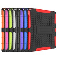 amazon drop shipping - DHL Shockproof Armor Heavy Duty Silicone Hard Back Case with Stand Hang For quot Tablet Apple