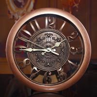 Wholesale Vinatge D Wall Clock Home Decor Quartz Large Clocks Hot Selling Fashion DIY Big Clocks Cheap Price