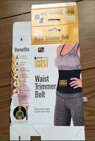 Wholesale Sweat Premium Waist Trimmer Belt for Men Women High Quality Slimming Belt DHL Free