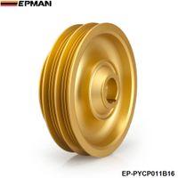 Wholesale EPMAN new Racing Light Weight Aluminum Crankshaft Pulley For Honda Civic Si Integra B Series EP PYCP011B16