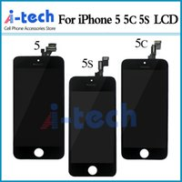Wholesale A For iPhone S C LCD Display Touch Digitizer Complete Screen with Frame Assembly Replacement Free DHL Shipping