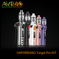 gift box metal - 100 Original Vaporesso TARGET pro VTC W Starter Kit new target vtc w kit With Ceramic cCELL Tank Coil Temperature Control Mod Gift Box
