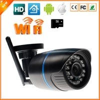 abs surveillance - ABS Plastic Material Wireless IP Camera P With SD Slot Max G One Key WPS Wifi Camera IP Home Surveillance CCTV