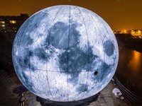 Wholesale 2M Led Lighted Inflatable Moon Ball for Outdoor Promotion
