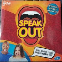 Wholesale New Hot Speak Out Game KTV party game cards for party Christmas gift newest best selling toy