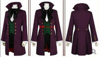 Wholesale Black Butler Season Earl Alois Trancy cosplay party anime Cosplay Costume Clothes Dress Set Full Set