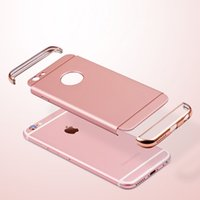 apple gloss - 360 Full Body Protective Case for iphone plus s Plus Cover in Design High quality pc high gloss plating