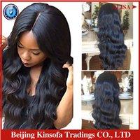 Wholesale Full Lace Human Hair Wigs Swiss Lace Body Wave Brazilian Virgin Lace front Human Hair Wigs Silky Human Hair Wigs For Black Women